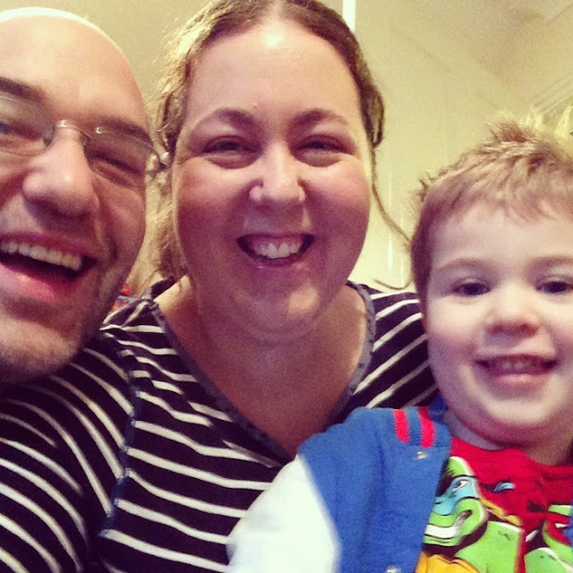 A Full-Time Working Mum's Blogging Day | Morgan's Milieu: Kat and family from Mum for Fun