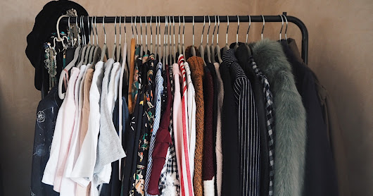 How I built an Autumn Winter Capsule Wardrobe