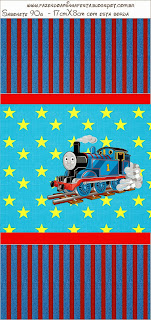 Thomas the Train Free Printable Candy Bar Labels.