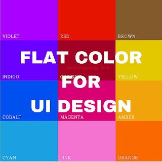 Kumpulan Flat Color Untuk UI Design