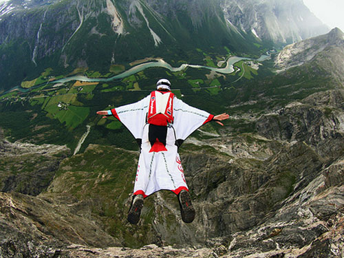 Wingsuit Fly