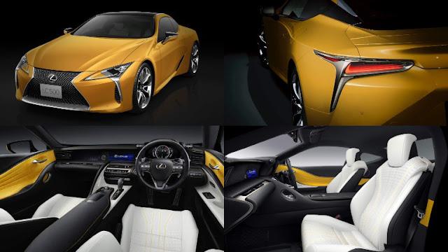 Официальные дилеры Lexus в России принимают заказы на спорткар Lexus LC Yellow Edition