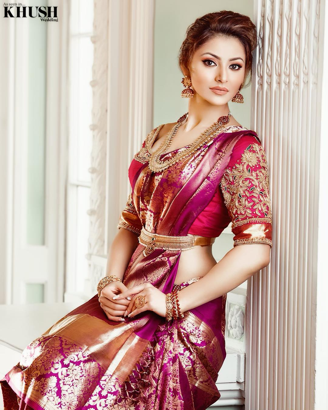 Urvashi Rautela EXCLUSIVE Photos of UK Khush Wedding Magazine