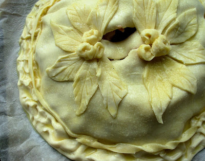 Quince and Pear Double Crust Pie