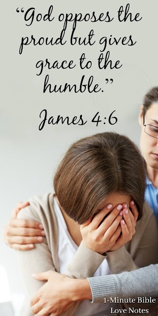 Knowing and Living God's Word Makes Us Humble, Not Proud.