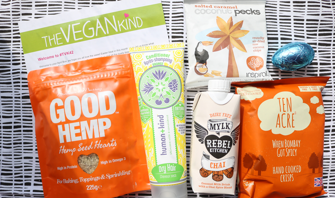 The Vegan Kind Box - April 2017 review