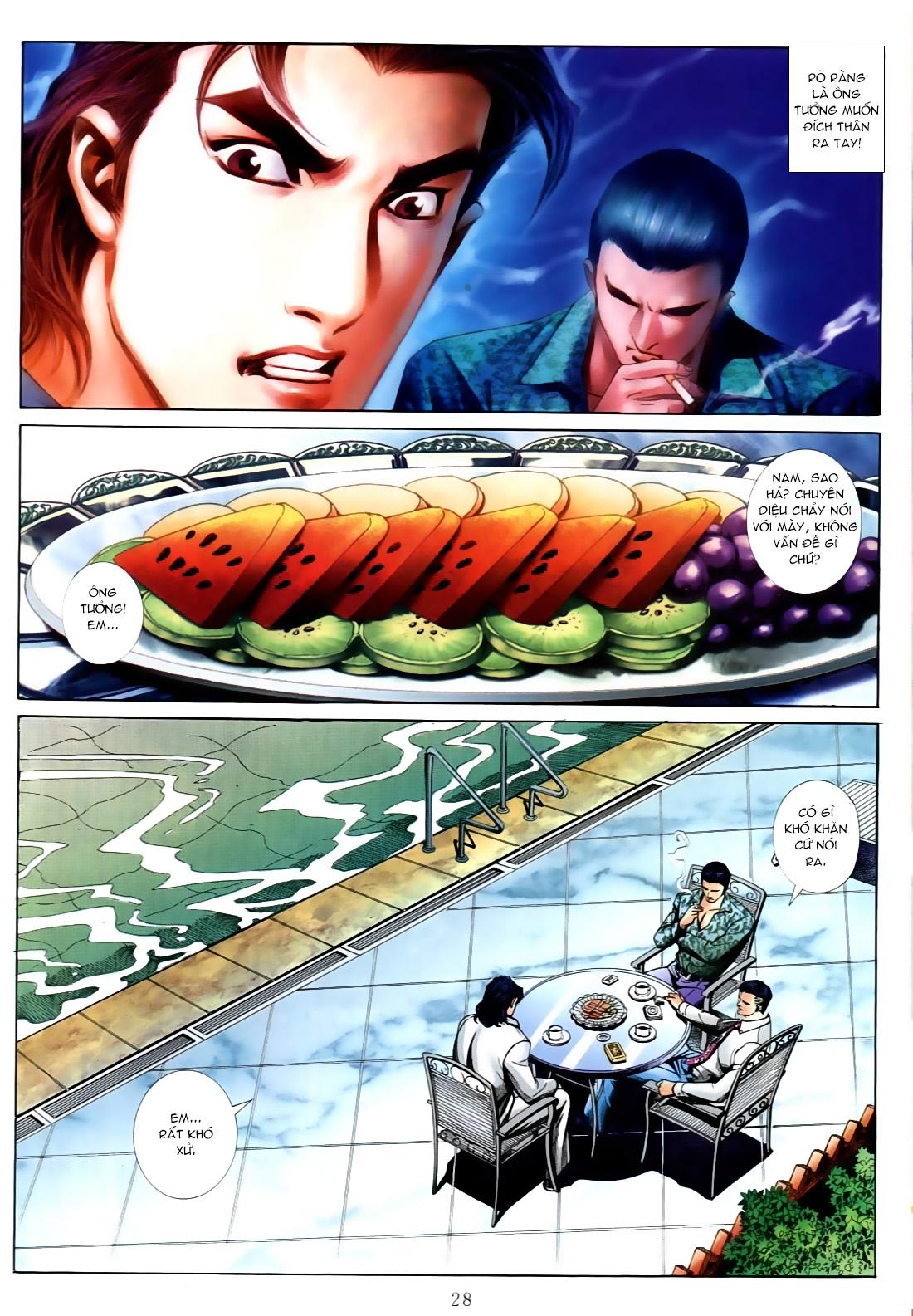 Người Trong Giang Hồ chapter 556: làm khó nam đẹp trai trang 20