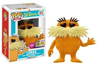Pop! Books: Dr. Seuss – Lorax (flocked)