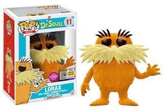 Pop! Books: Dr. Seuss – Lorax (flocked)