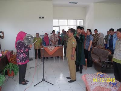 Kartawi Resmi menggantikan Kades Cilewo Telagasari Karawang
