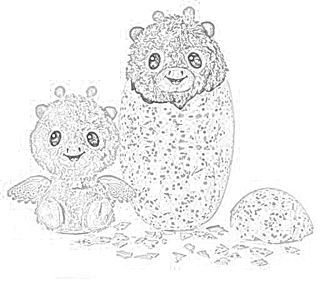 - The Holiday Site: Hachimals For The Holidays! Coloring Pages Free And  Downloadable