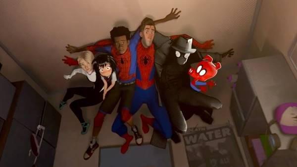 Ulasan dan Review Film Spider-Man Into the Spiderverse (2018)