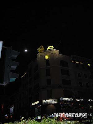 Keindahan Malam Bandar KK