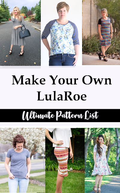 How to make your own LulaRoe Copycat clothing
