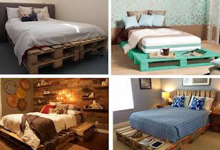 27 ไอเดียโดนใจ เตียงไม้พาเลท เรียบง่าย ได้ใจ ในแบบฮิบๆ