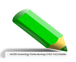 Write A Specific Inventory of the NC2 Exam
