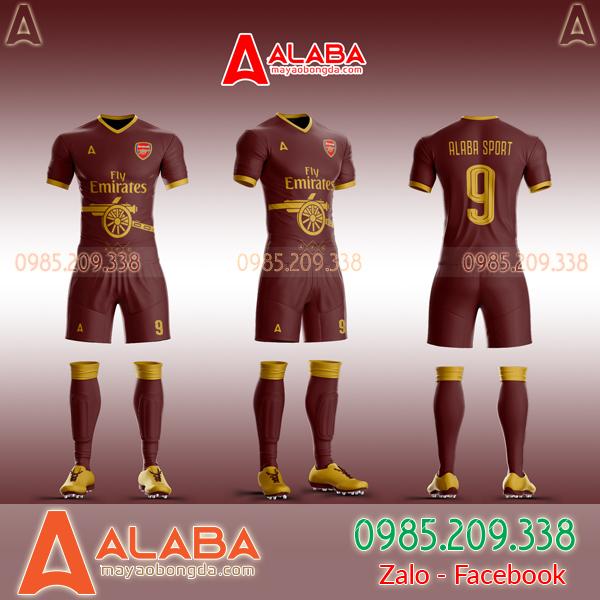 Áo CLB Arsenal tự thiết kế mã ARB AR07 đẹp mắt