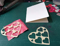 tarjeta de san valentin hecha a mano, DIY