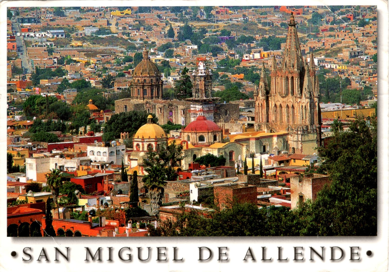 World Come To My Home 3154 Mexico Guanajuato San Miguel De Allende Part Of Protective Town Of San Miguel And The Sanctuary Of Jesús Nazareno De Atotonilco Unesco Whs
