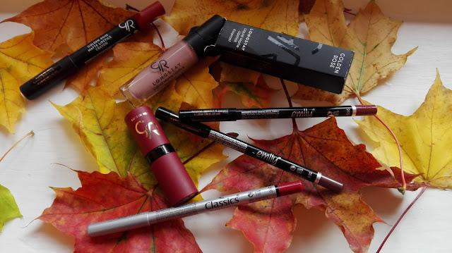 Ulubione kolory ust na jesień | Golden Rose