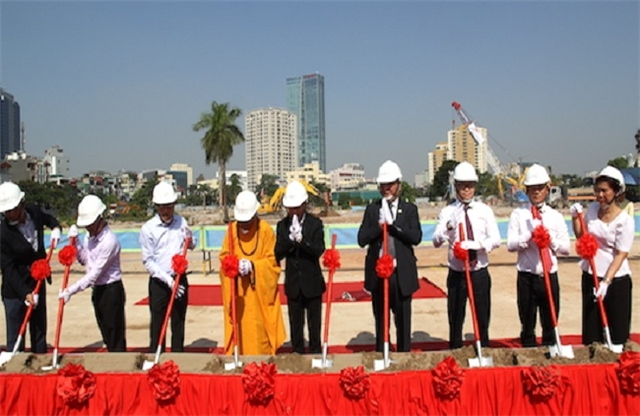 Lễ khởi công dự án Tân Hoàng Minh 148 Giảng Võ