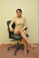 Actress Pooja Roshan Stills in Golden Short Dress at Box Movie Audio Launch  0038.JPG