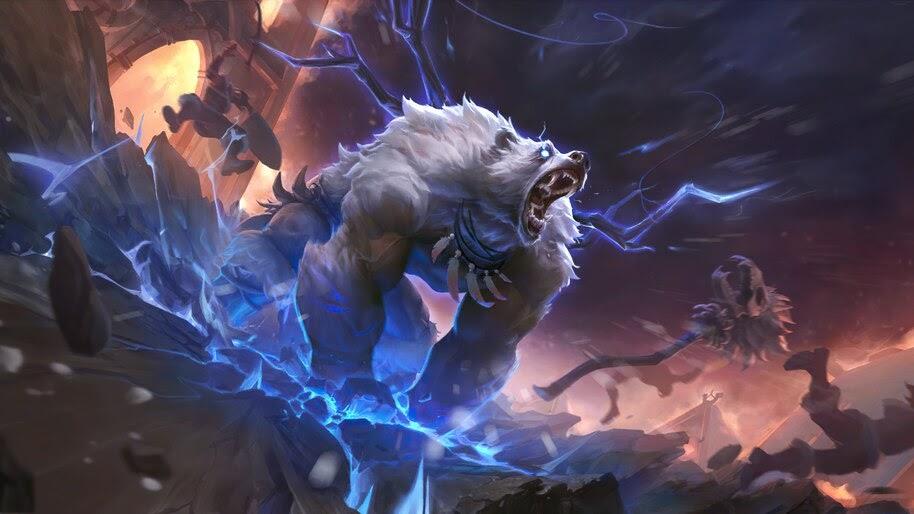 Stormclaw Ursine, Legends of Runeterra, 4K, #7.1850