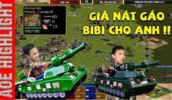 AoE Highlight | U98 đập tan giấc mộng cân bản đồ của BiBi bằng trận chủ lực trong mơ