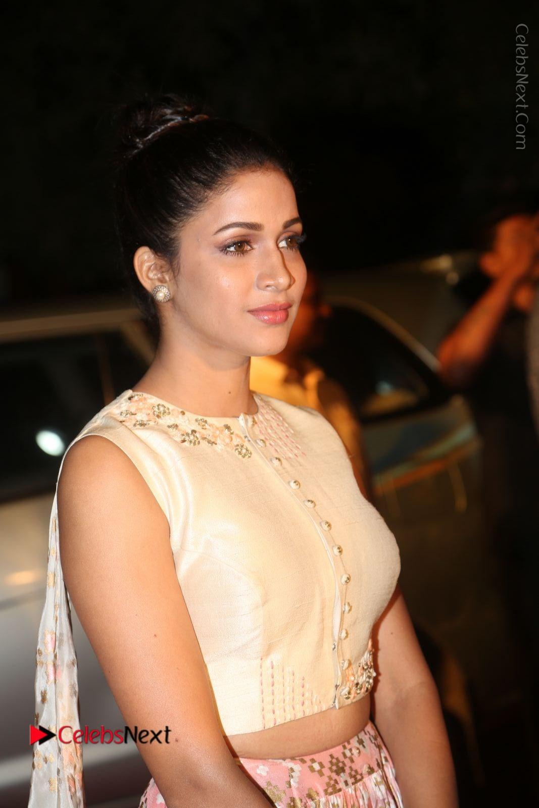 Lavanya Tripathi Stills in Beautiful Dress at Gemini TV Puraskaralu 2016 Event