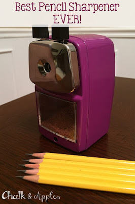 My Very Favorite Pencil Sharpener Has Gone Purple