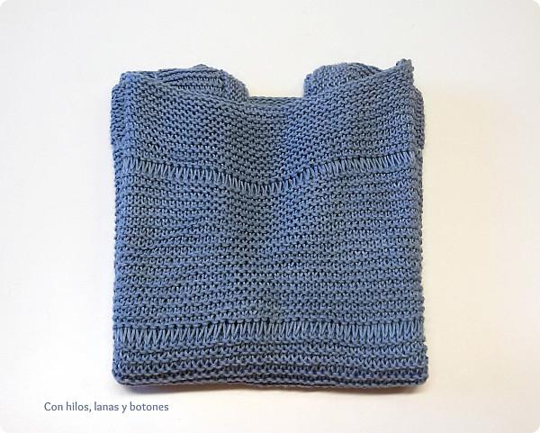 Con hilos, lanas y botones: DIY top de vainicas BAMBÚ