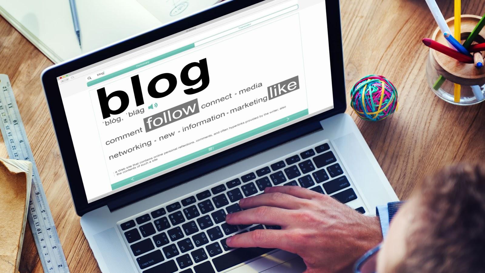 Blogger - Marketing de Contenido