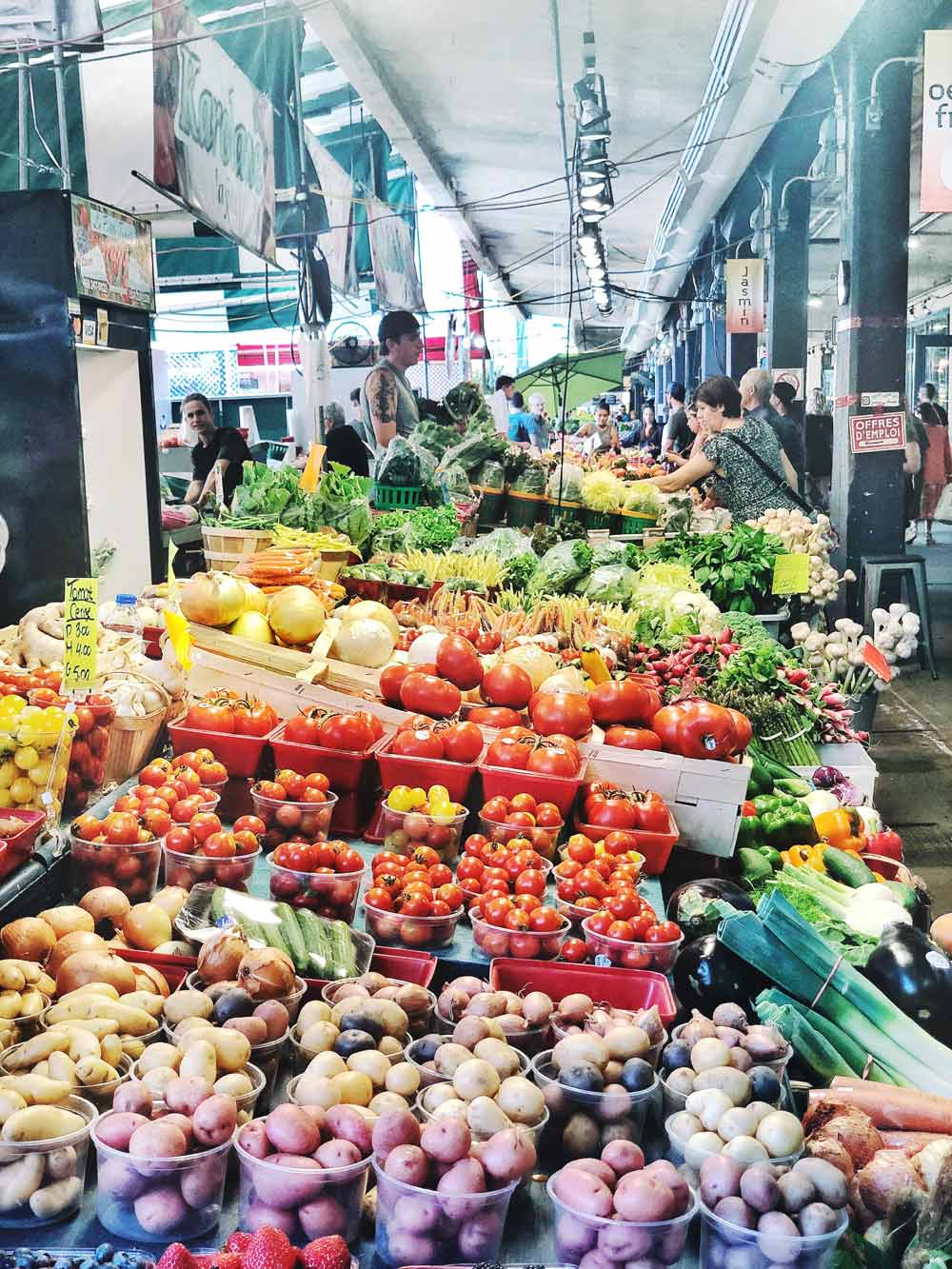 2 Days in Montreal - A Guide to What to Do and Where to Eat - Atwater Market