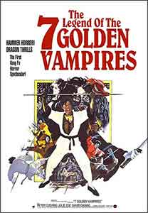 Legend of the 7 golden vampires / Poster, un film de Roy Ward Baker