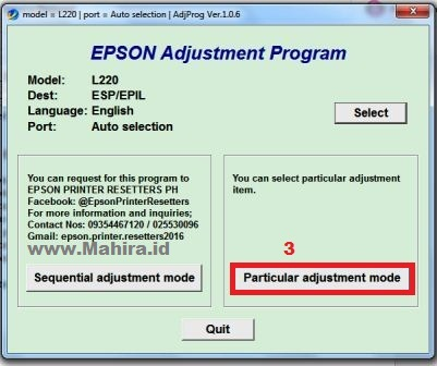 epson l220 service required software free download