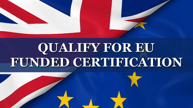 Qualify for EU Funded Certification | Layth Jawad