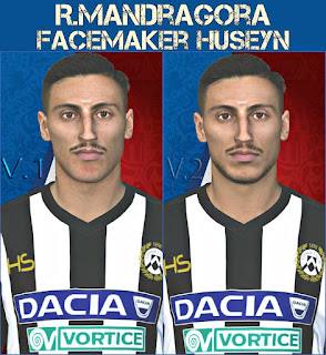 PES 2017 Faces Rolando Mandragora by Huseyn