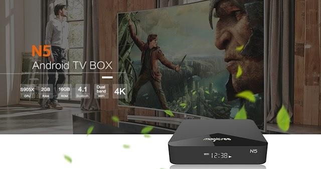 ▷[Análisis + Cupón] MAGICSEE N5, Opiniones y Review de un TV Box 4K en rebajas por tiempo limitado