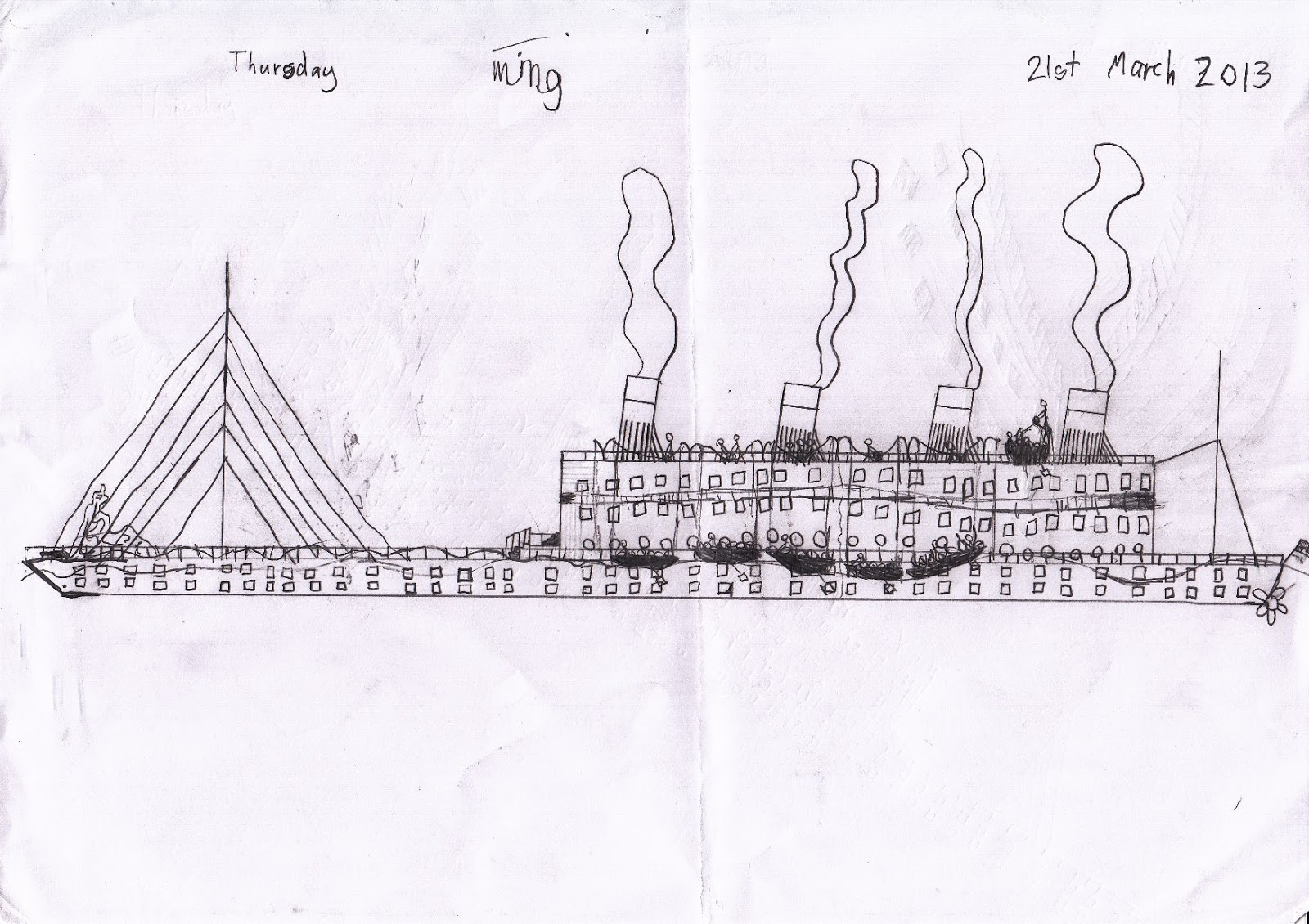 small resolution of rms titanic 15 apr 2013