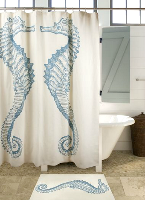 Coastal Shower Curtain Sale