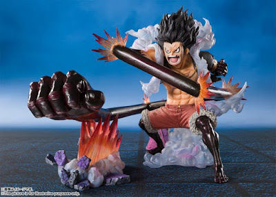 "Figuarts ZERO Chou Gekisen -Extra Battle- Luffy -The Snakeman-  de ""One Piece"" - Tamashii Nations"