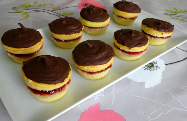 pâtisserie gâteau mini biscuit framboise goût pim's chocolat
