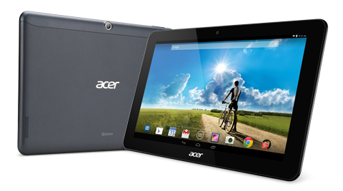 Acer Iconia Tab A3-A20 Specifications -  LAUNCH Announced 2014, October  This is not a GSM device, it will not work on any GSM network worldwide DISPLAY Type LED-backlit IPS LCD capacitive touchscreen, 16M colors Size 10.1 inches (~67.8% screen-to-body ratio) Resolution 1280 x 800 pixels (~149 ppi pixel density) Multitouch Yes Protection Corning Gorilla Glass 4, oleophobic coating BODY Dimensions 256.5 x 170.2 x 10.2 mm (10.10 x 6.70 x 0.40 in) Weight 508 g (1.12 lb) SIM No PLATFORM OS Android OS, v4.4 (KitKat) CPU Quad-core 1.3 GHz Cortex-A7 Chipset Mediatek MT8127 GPU Mali-450MP4 MEMORY Card slot microSD, up to 256 GB (dedicated slot) Internal 16 GB, 1 GB RAM CAMERA Primary 5 MP, autofocus Secondary 2 MP Features Geo-tagging Video 720p NETWORK Technology No cellular connectivity 2G bands N/A GPRS No EDGE No COMMS WLAN Wi-Fi 802.11 b/g/n, hotspot NFC No GPS A-GPS only USB microUSB v2.0 Radio No Bluetooth v4.0 FEATURES Sensors Accelerometer Messaging Email, Push Email, IM Browser HTML5 Java No SOUND Alert types Vibration; MP3, WAV ringtones Loudspeaker Yes, with stereo speakers 3.5mm jack Yes   - Dolby Digital Plus BATTERY  Non-removable Li-Po 5910 mAh battery (A3-A20-K1AY) Stand-by  Talk time Up to 9 h (multimedia) Music play  MISC Colors Black, White  - MP3/WAV/eAAC+/Flac player - MP4/H.264 player - Document viewer - Photo/video editor
