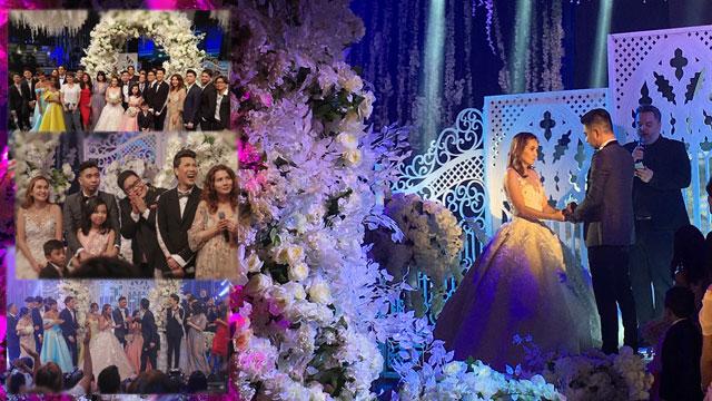 Watch Teddy Corpuz marries wife on National TV