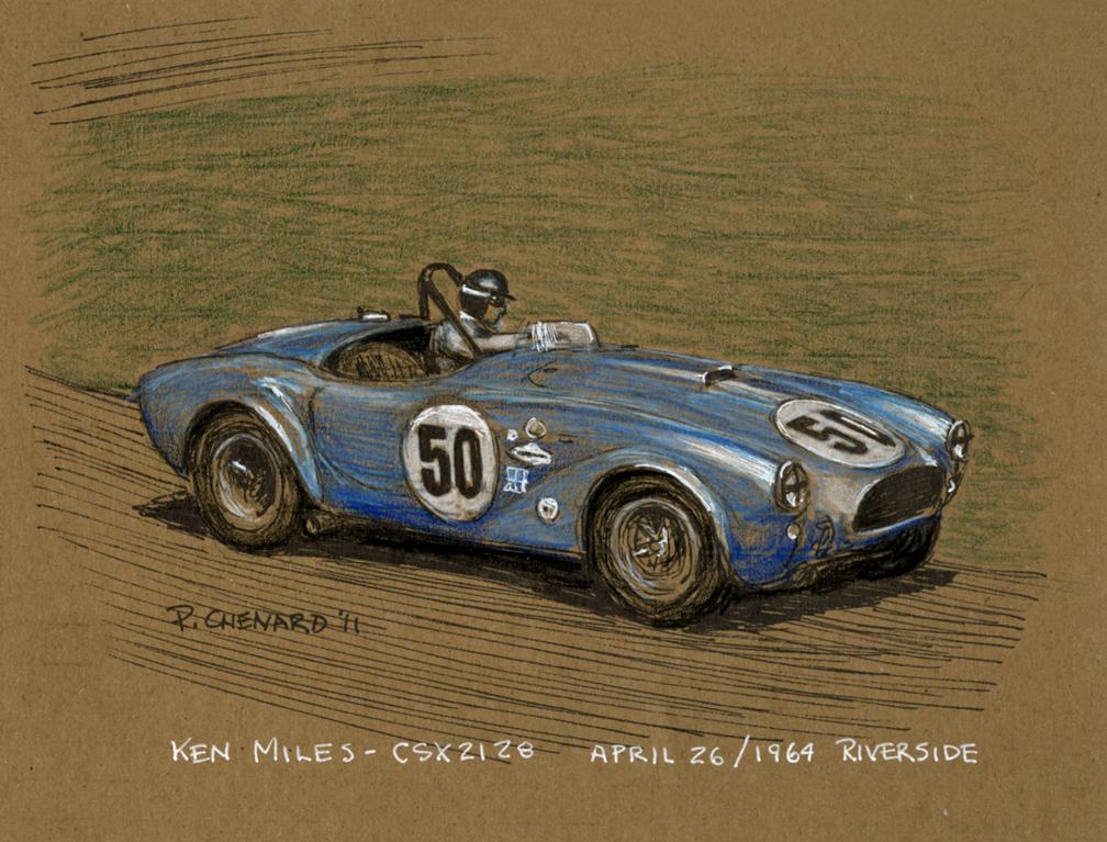Automobiliart.com: Carroll Shelby 1923-2012