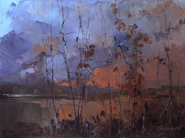 One autumn evening & Vitaliy Mashchenko