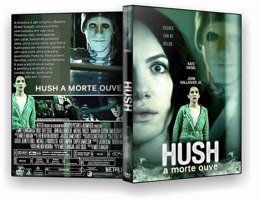 Torrent - Hush – A Morte Ouve Torrent WEBRip 720p Dual Áudio (2016)
