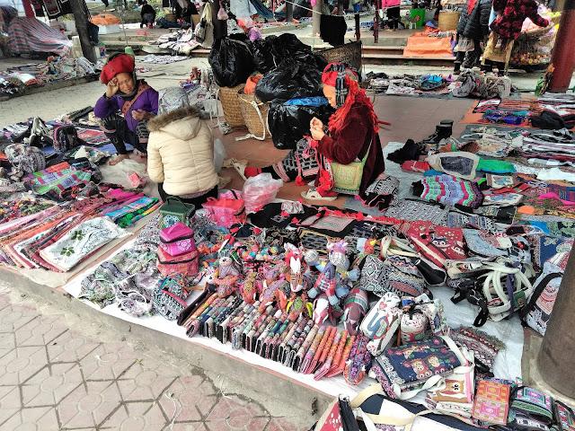 love market hmong tribe sapa vietnam