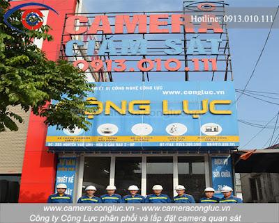 Đơn vị chuyên thi công lắp đặt, sửa chữa camera tại Nguyễn Công Hòa - Hải Phòng.