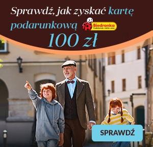 100 zł do Biedronki w Nest Bank